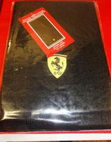 Handtuch mit Ferrarilogo schwarz