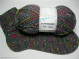 Supersocke von ONline 4-fädig - Fun-color - Sortierung 188 - 100g