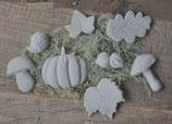Beton Teilchen Herbst - handgemacht