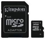 Tarjeta de memoria Kingston micro SDHC 32 GB