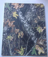 Hoja adhesiva de camuflage bosque