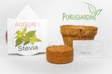 """Eco-Set Regalo  AUGURI  """"STEVIA"""" 6 Pezzi"""