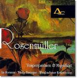 CD Rosenmüller - Vesperpsalmen & Magnificat