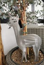 Metall-Paka Blumenstecker mit Erdspieß
