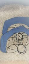 Einfarbige Fan Cover für große Fächer
