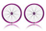 Radsatz violett / 36 Speichen