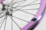 Fabrik Radsatz pink