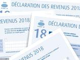 Déclaration des revenus de 2018