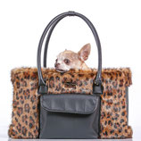 Hundetasche Luxury Animal-Print