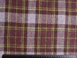 Heather Plaid -farblich inspiriert von den Heidetönen der Manx Hills - reine Wolle aus Shetland - Breite 150 cm