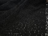 Spitze schwarz, 100 % Baumwolle Breite 125 cm