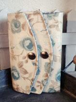 portemonnaie GENIUS_beige blau geblümt