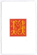 Carnet Alphabet Rouge