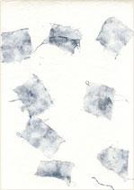Coton pur avec inclusion jeans bleu