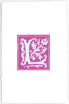 Carnet Alphabet Rose fuschia