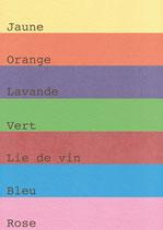 Coton pur couleur