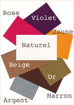 Livre d'Or - Choix couleur micro cannelure