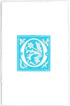Carnet Alphabet Bleu