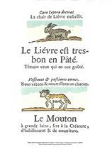 """Rôti-Cochon """"Le Lièvre et le Mouton"""""""