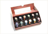 Coffret de 12 encres assorties