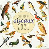 Calendrier des Oiseaux 2021 - Rustica
