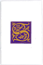Carnet Alphabet Violet