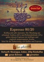 Espresso 80/20