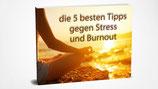 """E-Book """"die 5 besten Tipps gegen Stress und Burnout"""""""