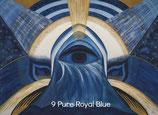 009 Pure Royal Blue Energy Card