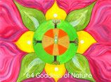 64 Goddess of Nature Energy Card