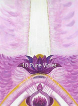 010 Pure Violet Energy Card