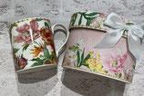 花のマグカップ(ギフトボックス付き)夏の花