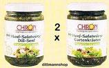 2 x 95 g BIO-Hanf-Salatwürze Dill-Senf und Gartenkräuter - TOP Qualität