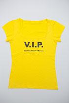 T-Shirt VIP gelb