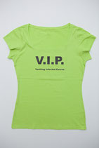T-Shirt VIP hellgrün