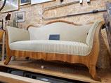 Sehr schönes Biedermeier 2er Sofa aus dem Baselbiet (10/20)
