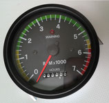 TACHOMETER / HOUR METER  DIAMETER mm 80, 0-7000 RPM