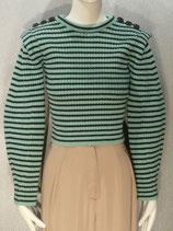 Melange Stripe Knit Jumper