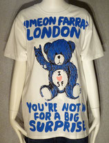 Unisex Crew T with London Toy Bear