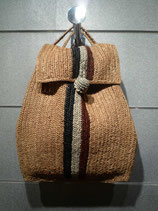 Raffia Pack Bag Big