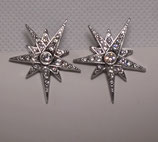 Star Clips Silver