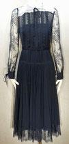 Lace Trim Midi Dress