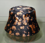 Backet Hat with Flowers
