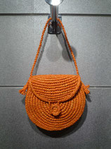 Raffia Bag Round Mini