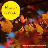 """Aktion """"Herbst special"""""""
