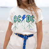 T shirt ACDC Green
