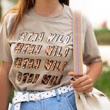 T shirt Stay Wild