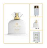 Parfum femme 100 ml, 30% d'essence de parfum ( inspiré de CRYSTAL NOIR de VERSACE )