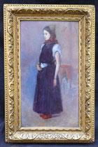 Petite Peinture XIXème Signée R.touchard