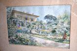 Ernest Auguste Sembach (1854-1898) - La Villa Sur Cannes